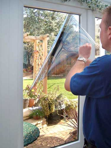 Professionally Installed Residential Window Film