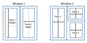 Window Pane Dimensions
